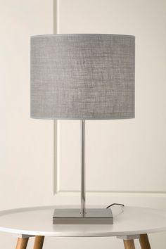 233 Felix Table Lamp with Ash Hessian Shade