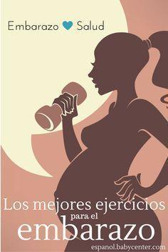 Los mejores ejercicios para mantenerte en forma durante el embarazo. (video)