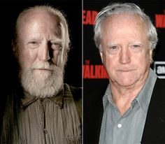 The Walking Dead Cast: What They Look Like on the Red Carpet Walking Dead Season, Fear The Walking Dead, Zombie Fighters, Rick And Michonne, Rick Grimes, Walking Dead Characters, Scott Wilson, The Hollywood Reporter, Daryl Dixon