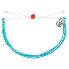 Support efforts to save our oceans and address other environmental issues when you buy this artisan-crafted Pura Vida bracelet. Made of waterproof, wax-coated string. Purvida Bracelets, Surfer Bracelets, Friend Bracelets, Jewelry Accessories, Fashion Accessories, Diy Jewelry, Beach Anklets, Turquoise Bracelet, Pure Products