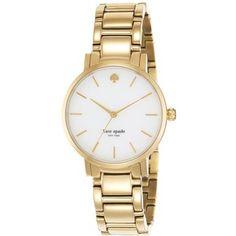 Kate Spade New York Gramercy Mother-Of-Pearl & Goldtone Stainless Steel Bracelet Watch