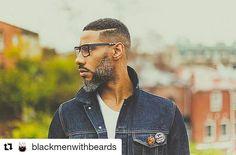 Happy Tuesday Slayers!! #GrayBeard #Beard #Photography #GrayHair #Bearded #BeardLife #BrothaYourGrayHairIsBeautiful #Repost @blackmenwithbeards with @repostapp @kwik1911 #readventures #reathegal #readagal Beard Head, Big Beard, Salt And Pepper Beard, Black Men Beards, Beard Styles For Men, Beard Lover, African American Men, Beard Gang, Grown Man