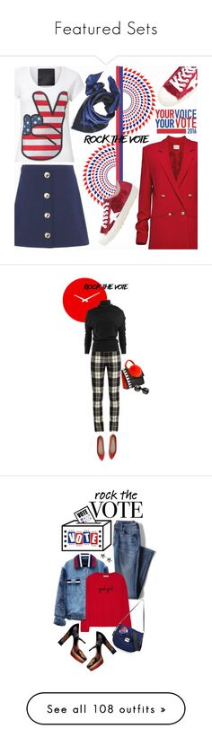 """""""Featured Sets"""" by polyvore ❤ liked on Polyvore featuring Love Moschino, Magda Butrym, Golden Goose, rockthevote, Les Petits Joueurs, Scale 1:1, MaxMara, Lanvin, Tod's and Bottega Veneta"""