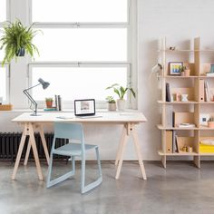 Open-source furniture brand Opendesk has collaborated with designers in London and Chicago to create new two pieces of furniture that can be assembled without glue, screws or hinges.