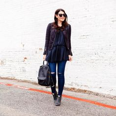 Um hello comfiest jeans ever!  I'm not even kidding -- I'm in love with these jeans.  full post  details kn the blog today! http://liketk.it/2pSYa @liketoknow.it #liketkit #LTKunder100 #macyslove