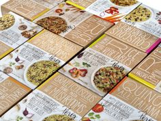 Pereg Gourmet Natural Foods | Packaging of the World: Creative Package Design Archive and Gallery