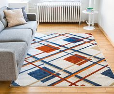 Royal Tartan Plaid Beige Multi Red Blue Vintage Modern Checked Geometric Shabby Chic Area Rug 8 x 10 ( 7'10' x 9'10' ) Neutral Thick Soft Plush Shed Free >>> Be sure to check out this awesome product. (This is an affiliate link) #HomeDecorTips
