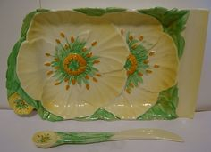 English Pottery, Carlton Ware, Cheese Dishes, Stoke On Trent, Buttercup, Vintage China, Serving Dishes, Butter Dish, Utensils