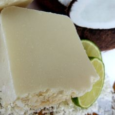 Soap, Coconut & Lime, Natural, Vegan, Homemade it yourself decorating ideas handmade Soap Making Recipes, Soap Recipes, Homemade Gifts, Diy Gifts, Vegan Soap, Cleaners Homemade, Homemade Beauty Products, Cold Process Soap, Home Made Soap