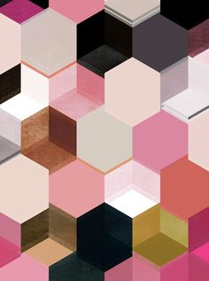 colour + pattern 17 Art Print by Georgiana Paraschiv | Society6