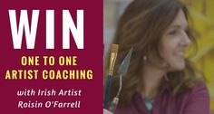 One to One, Art Coaching Giveaway First Art, Giveaway, Coaching, Projects To Try, Angels, Paintings, Artists, Note, Landscape