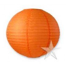 """10"""" Mango Round Paper Lanterns (12 Pieces)"""