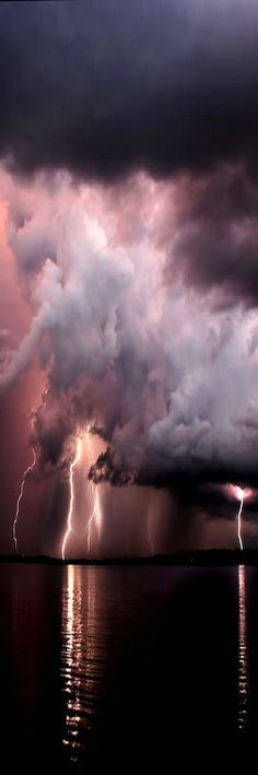 Lightning over Tampa by James Cundiff More