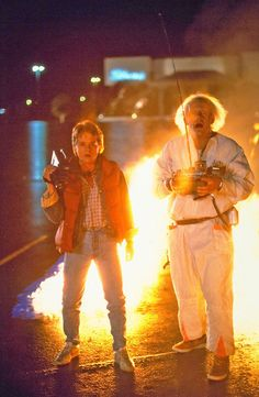 Back to the Future, my #1 childhood movie. I don't know how many times I quote this movie.