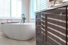 Visit our Bathroom Projects Gallery! You'll find bathroom displays, kitchen cabinets, bathroom cabinets, appliances, and more. Bathroom Cabinets, Kitchen Cabinets, Master Bathroom, Bathtub, Appliances, Usa, Store, Gallery, Projects