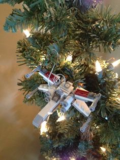 Lego Star Wars Christmas Ornament X Wing Star by LPBdesigns, $15.00