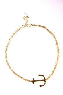 Sideways Anchor Necklace #sophieandtrey