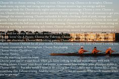 rowing | rowing crew choices