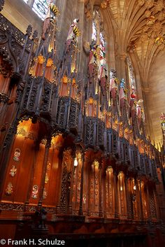 THISTLE CHAPEL - ST GILES CATHEDRAL / SCOTLAND