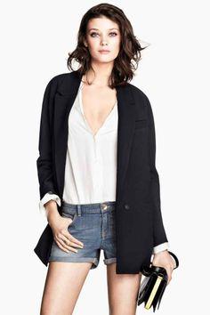 Manteau à boutonnage unique   H&M