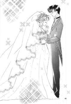 Usagi and Mamoru's wedding