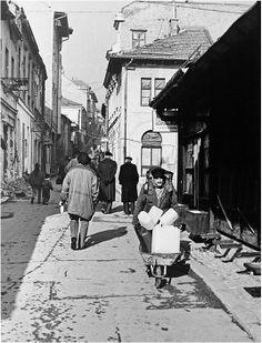 U Potrazi za Vodom, Seeking Water,  OPUS: Look Homeward Angel,  From Grand OPUS; Sarajevo City of Light,  SARAJEVO WAR 1992;by Mirza Ajanovic.