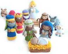 Ravelry: Nativity Set pattern by Jennifer Percival