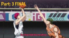 Rakuzan High vs Shūtoku High English Sub Part 3 FINAL (Episode 6 [56] KU...