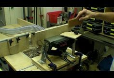 Mini Power Planer Stand / Jointer / Thicknesser – Hand Tool Conversion | Woodworkingguides.info Diy Tools, Hand Tools, Dell Shop, Woodworking Planer, Plane Tool, Wood Jig, Wood Projects, Man Cave, Ideas