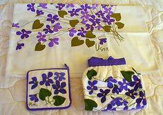 vera neumann purple flowers