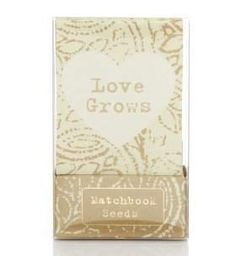 wedding favours - seeds