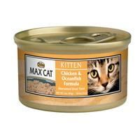 Nutro Max Cat Gourmet Classic Kitten Chicken and Ocean Whitefish 24/3 oz.
