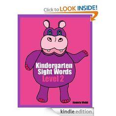 FREE Kindergarten sight words - 1/5 only!    #education #homeschool #hsmamas