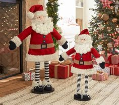 Dekofigur Jeune Fille avec bonnet céramique deco Noël Décoration x-mas
