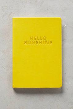 Hello Sunshine Journal