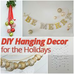 To help inspire your #holiday creativity, here are some holiday décor items that you can hang in your #apartment to give your space a #festive look!