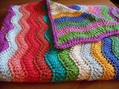 ripple blanket by christi.periasamy