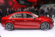 2013 Audi A3 sedan concept at the Geneva Auto Show... hoooot