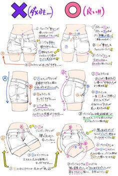 Clothes Drawing Reference Pants Super Ideas Source by ideas drawing Art Drawings Sketches, Doodle Drawings, Easy Drawings, Drawing Base, Manga Drawing, Figure Drawing, Anatomy Drawing, Drawing Techniques, Drawing Tips