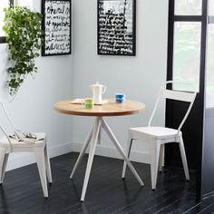 Round Adjustable Bistro Table #west elm