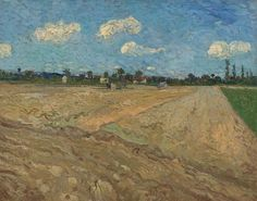 In September 1888 Vincent painted 'Ploughed Fields ('The Furrows')'. Take a look at the smallest details of this painting on our new website and share your discoveries with us!  http://www.vangoghmuseum.nl/en/collection/s0040V1962