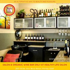 Healthy Life Salon & Organic Wine Bar website: HLSalon.com #salon #hair #beauty #skin #makeup #bocaraton #healthylifesalon #organicwinebar #bocasbest #royalpalm #stylist #colorspecialist #haircolor #haircut #hairbeauty Juli Edwards, owner of Healthy Life Salon is a hair color specialist who is well know for her precision cuts and beautiful hair color services. Juli uses ammonia-free, silicone-free, fragrance-free permanent or semi-permanent colour or 100% plant based Henna that is leap...