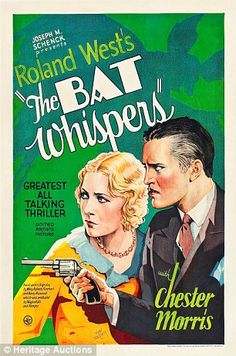 Classic movie posters that lay hidden in a Pennsylvania attic for 80 years expected to fetch $ 250,000 at auction - A rare poster for the Bat Whisperer