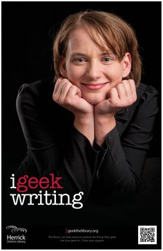 """i geek writing"""