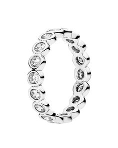 PANDORA Ring - Sterling Silver & Cubic Zirconia Alluring Brilliant   Bloomingdale's