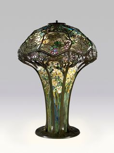Louis Comfort Tiffany lamp, Virginia Museum of Art. (via: Luxist) We have the Tiffany museum in Winter Park, Florida and this has always been his most exquisite of all his lamps to me. There is one in Winter Park and at the High in Atlanta like this spide