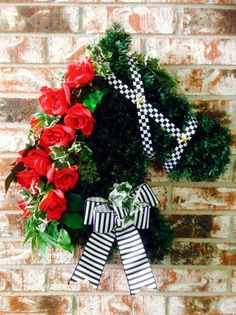 items-similar-to-kentucky-derby-horse-head-wreath-on-etsy/ - The world's most private search engine Derby Day, Derby Time, Horse Head Wreath, Derby Horse, Run For The Roses, Kentucky Derby Hats, Wreaths, Summer Wreath, Derby 2017