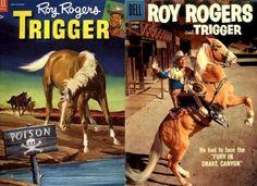 Roy Rogers Trigger Comics