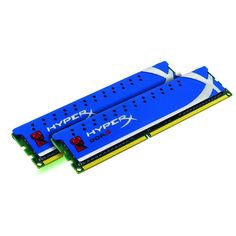 Kingston Technology HyperX 8 GB (2x4 GB Modules) 1600 MHz DDR3 Dual Channel Kit (PC3 12800) 240-Pin SDRAM
