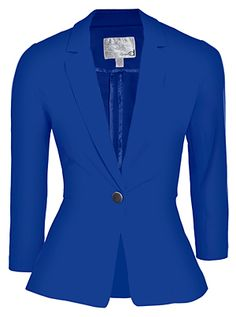 Royal blue blazer :)